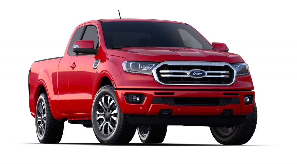 2020 Ford Ranger Race Red Exterior Color