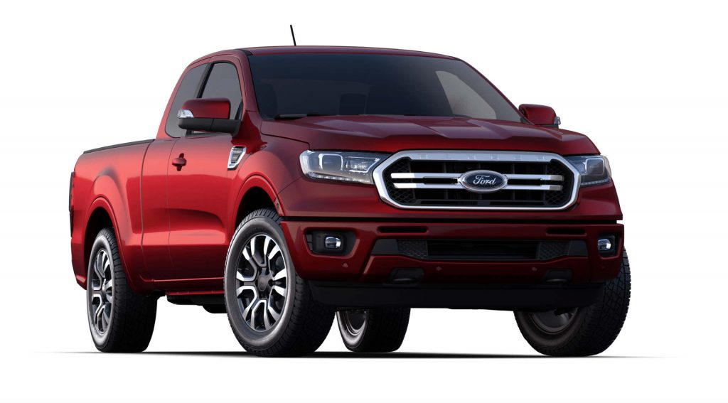 2020 Ford Ranger Rapid Red Exterior Color