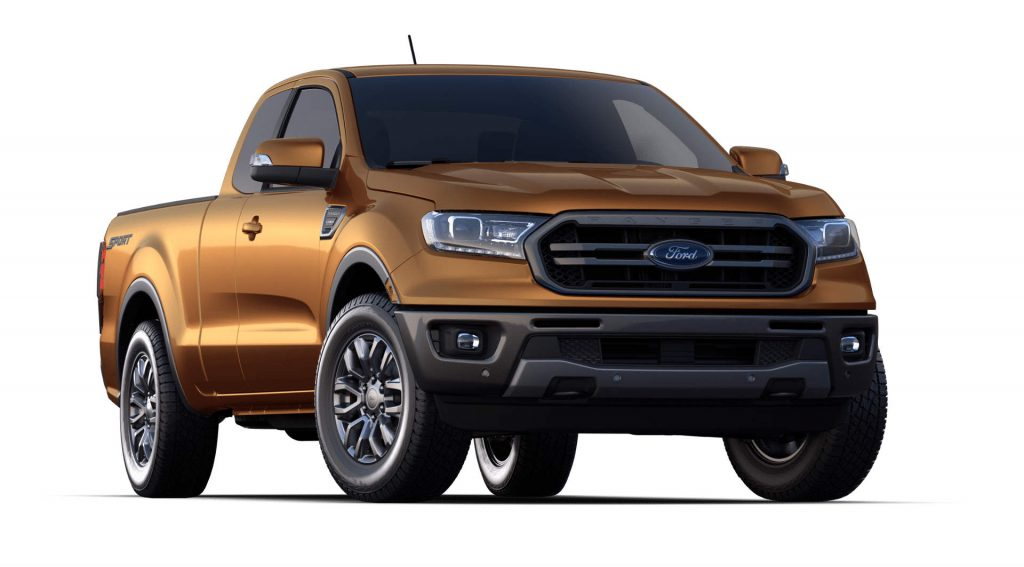 2020 Ford Ranger Saber Exterior Color