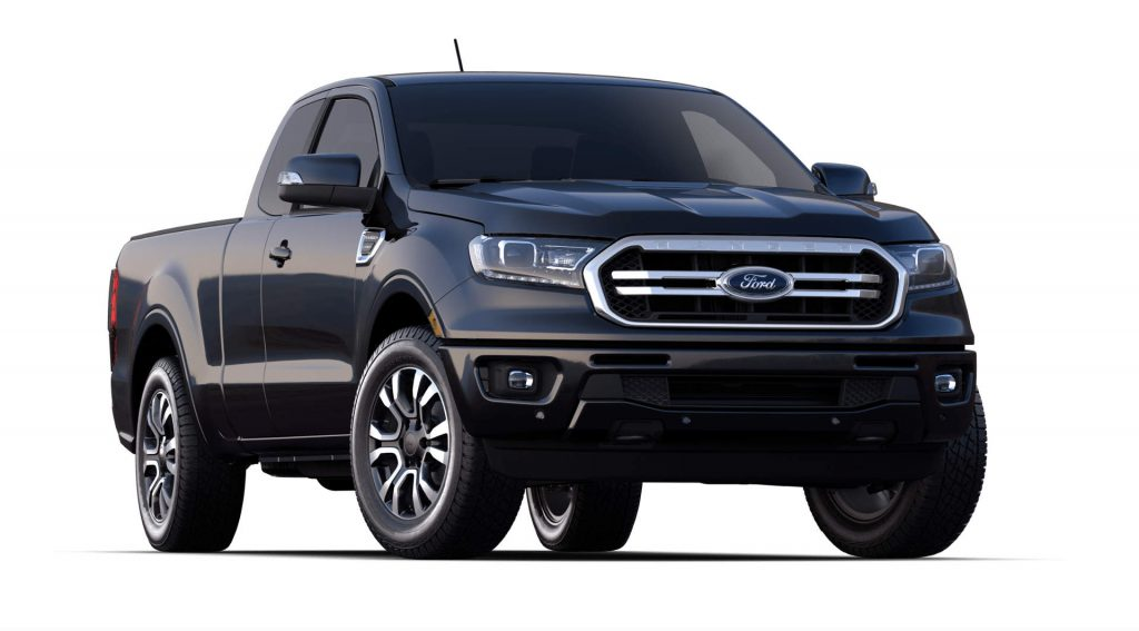 2020 Ford Ranger Shadow Black Exterior Color_o