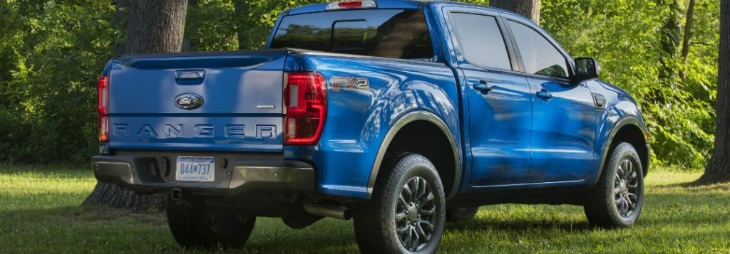 2020 Ford Ranger Towing and Payload Ratings