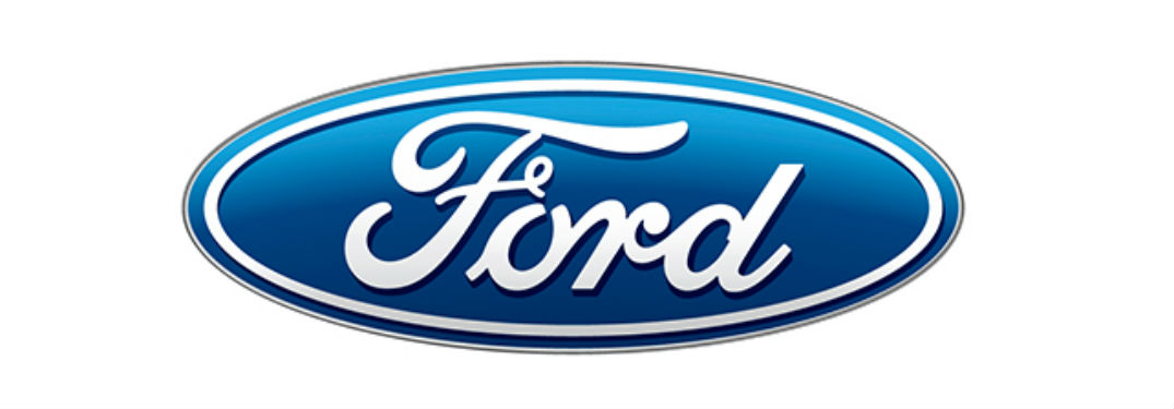 classic blue Ford logo