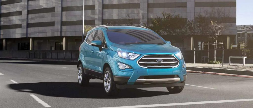 2020 Ford EcoSport Blue Candy Exterior Color