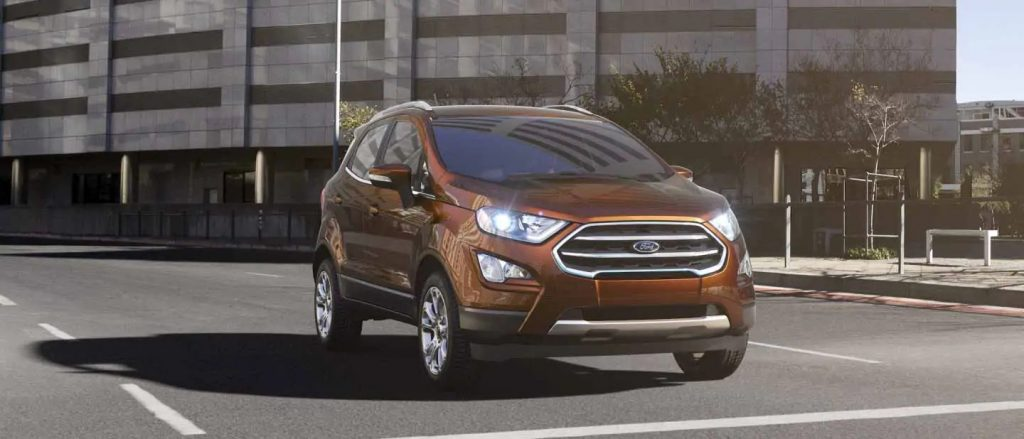 2020 Ford EcoSport Canyon Ridge Exterior Color