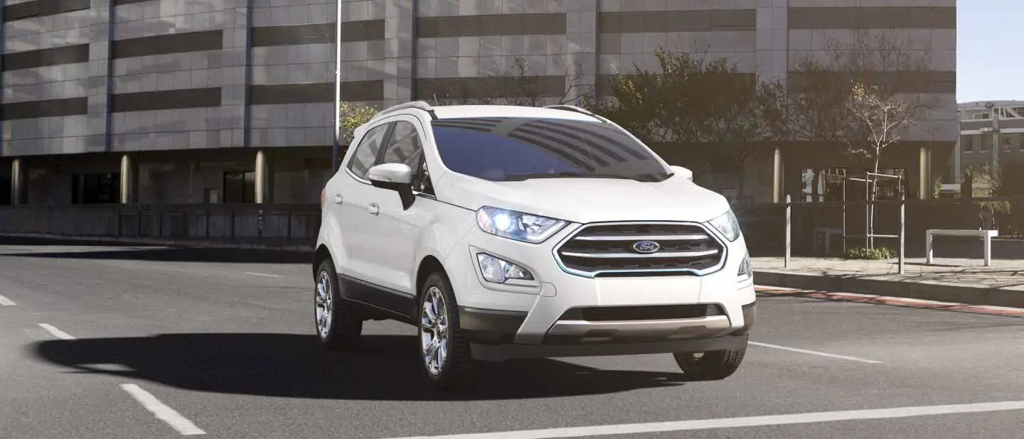 2020 Ford EcoSport Diamond White Exterior Color