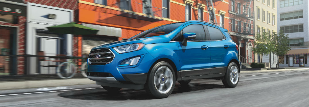 What Exterior Colors are Available for the 2020 Ford EcoSport Lineup at Brandon Ford in Tampa FL?