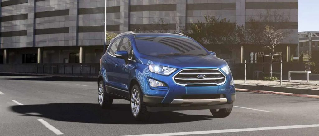 2020 Ford EcoSport Lightning Blue Exterior Color