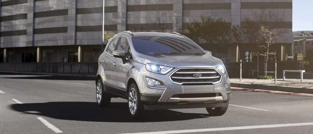 2020 Ford EcoSport Moondust Silver Exterior Color