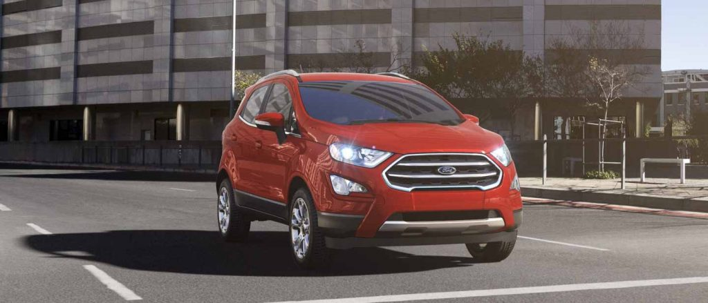 2020 Ford EcoSport Race Red Exterior Color