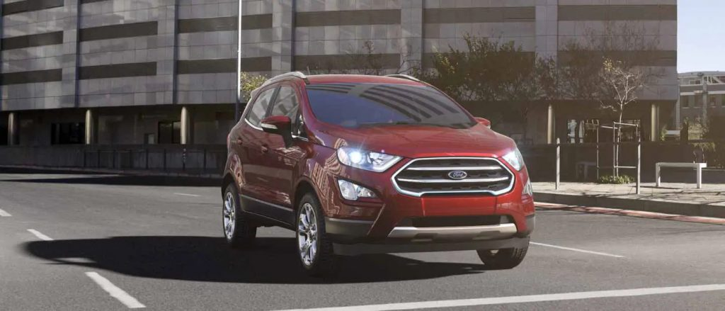 2020 Ford EcoSport Ruby Red Exterior Color