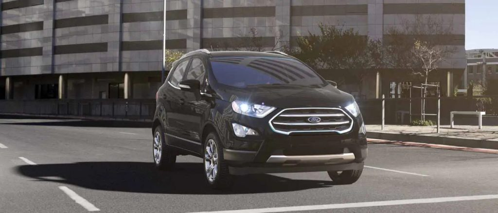 2020 Ford EcoSport Shadow Black Exterior Color
