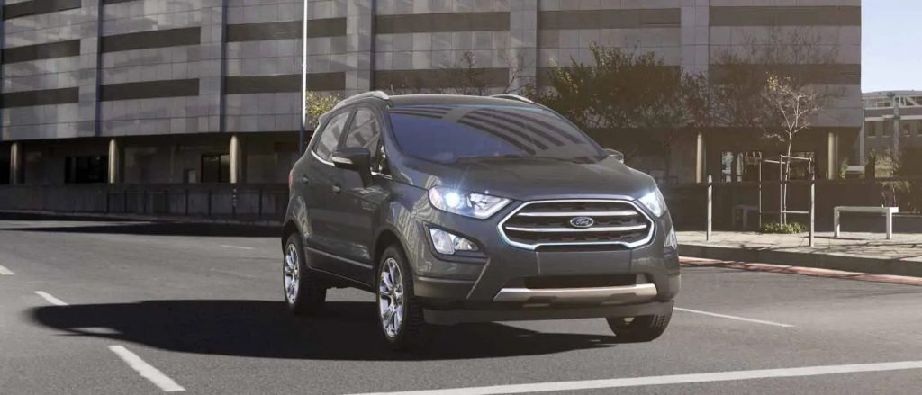 2020 Ford EcoSport Smoke Exterior Color