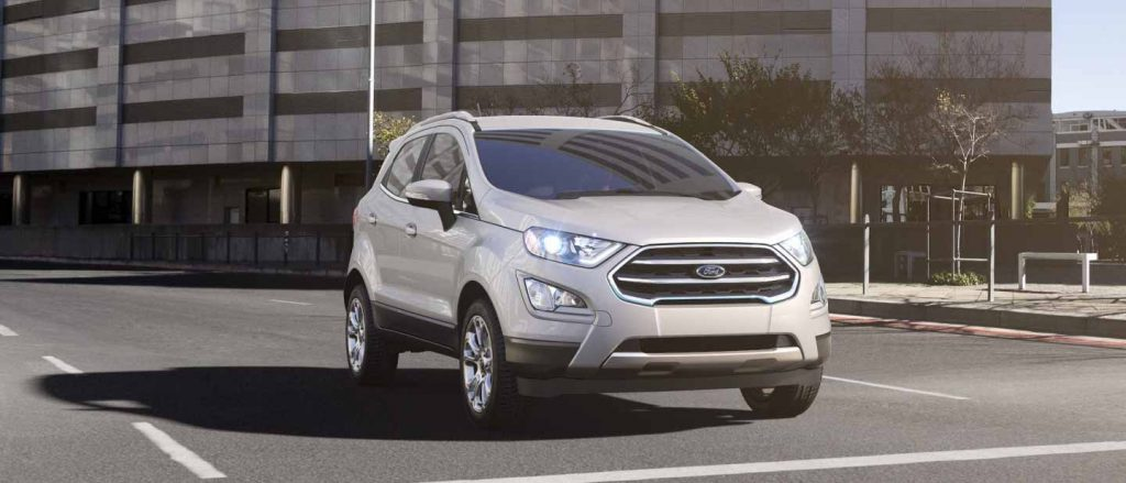 2020 Ford EcoSport White Platinum Exterior Color