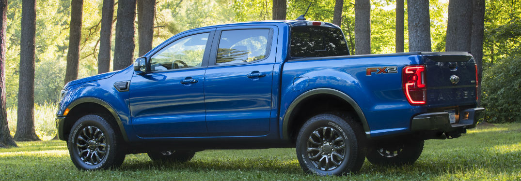 How Much Cab Space is Featured in the 2020 Ford Ranger Lineup at Brandon Ford in Tampa FL?