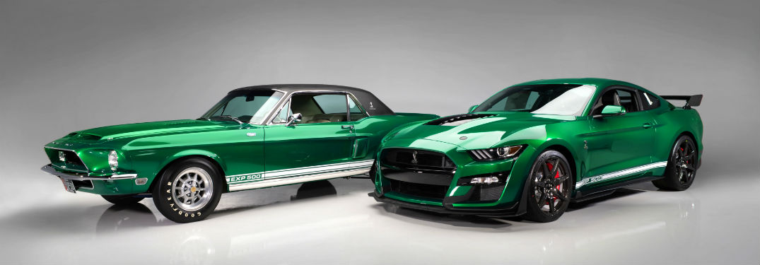 Pictures of Newly Restored Mustang Shelby Prototypes