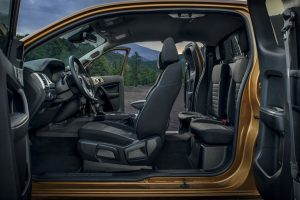 full interior of a 2020 Ford Ranger