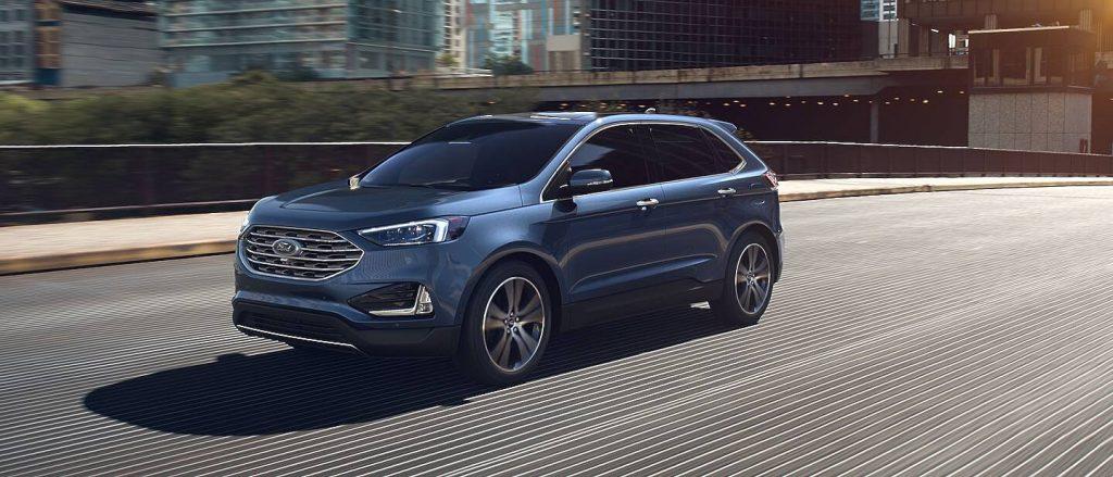 2020 Ford Edge Atlas Blue Exterior Color