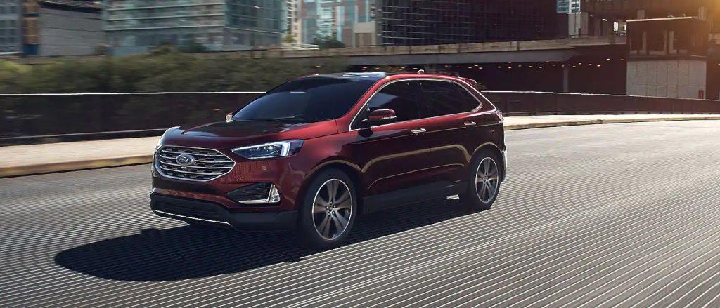 2020 Ford Edge Burgundy Velvet Exterior Color