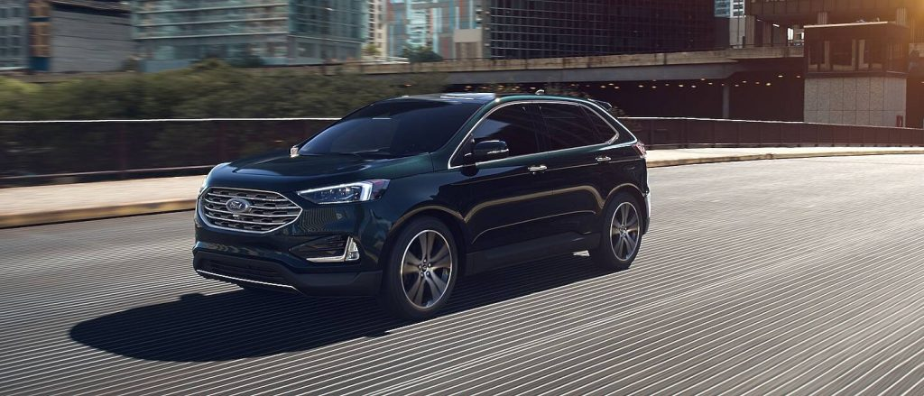 2020 Ford Edge Dark Persian Green Exterior Color