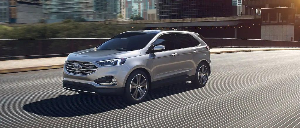 2020 Ford Edge Iconic Silver Exterior Color