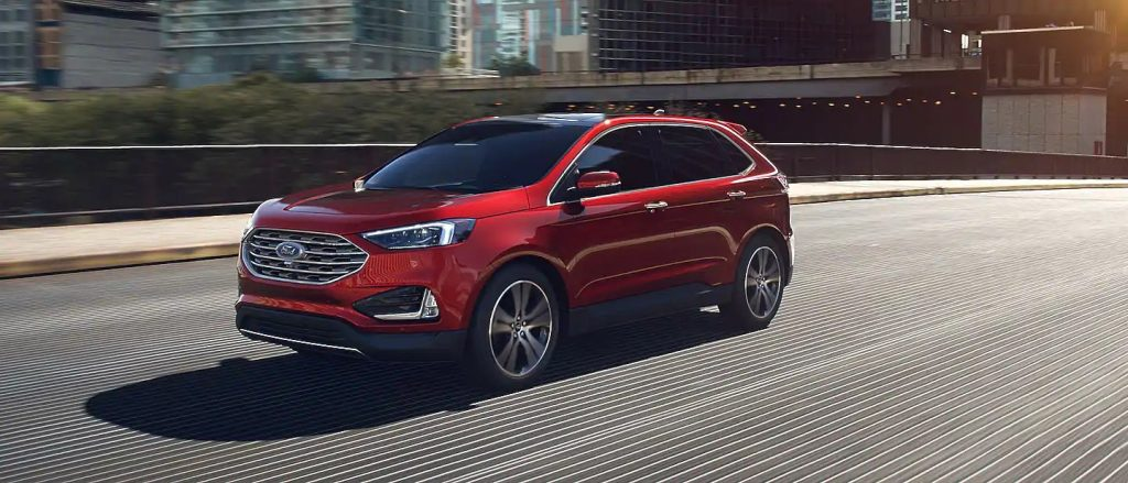 2020 Ford Edge Rapid Red Exterior Color