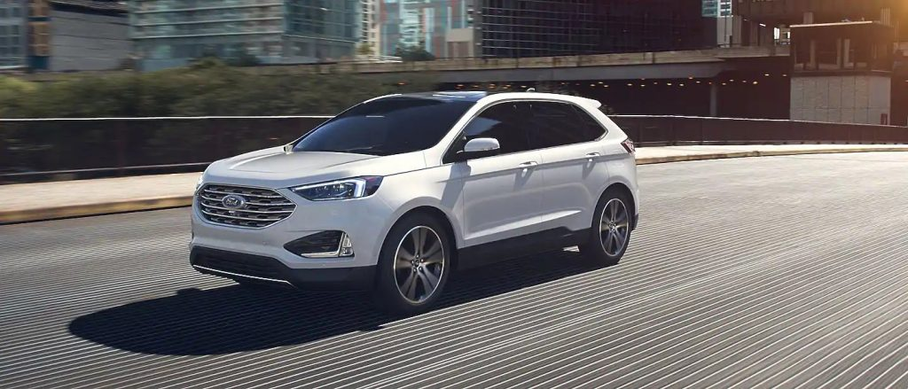 2020 Ford Edge Star White Exterior Color