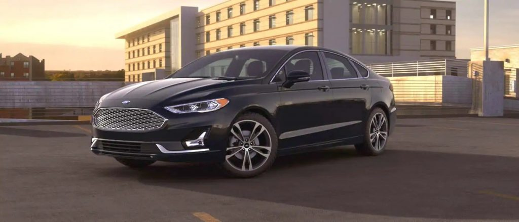 2020 Ford Fusion Agate Black Exterior Color