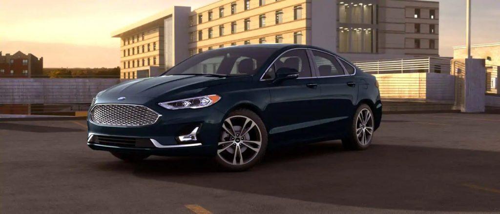 2020 Ford Fusion Alto Blue Exterior Color