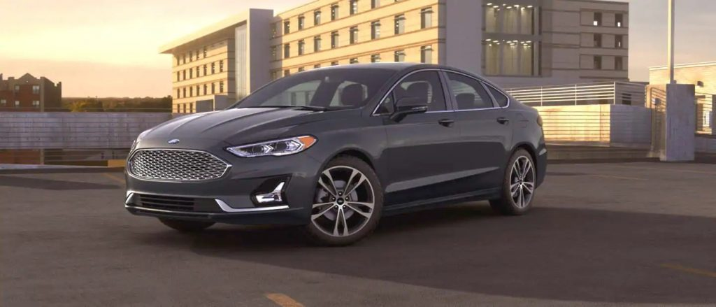 2020 Ford Fusion Magnetic Exterior Color