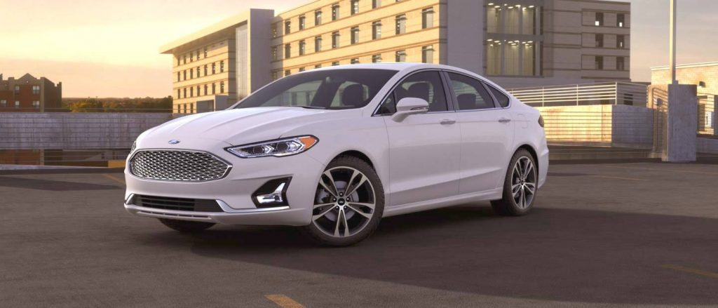 2020 Ford Fusion Oxford White Exterior Color