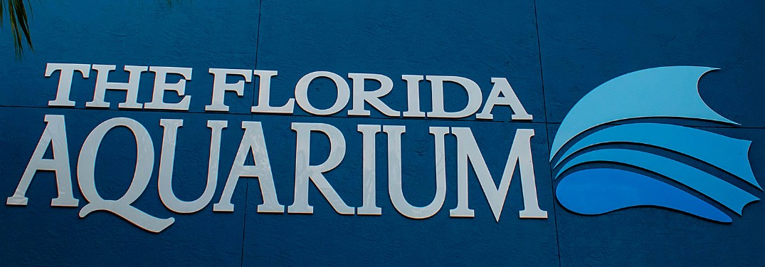 Florida Aquarium sign
