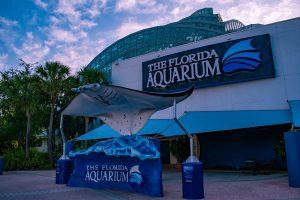 front entrance to the Florida Aquarium