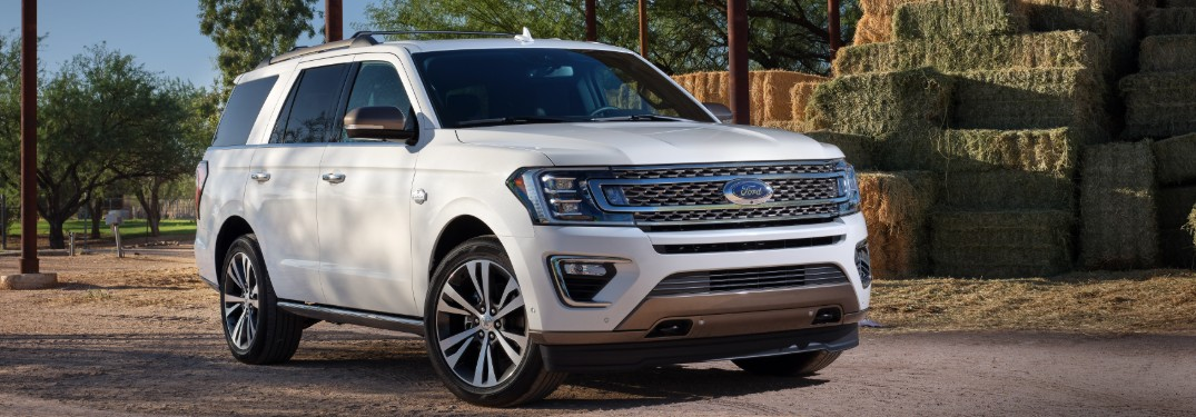 What Exterior Colors are Available for the 2020 Ford Expedition Lineup at Brandon Ford in Tampa FL?