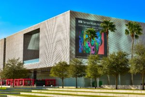 exterior of the Tampa Museum of Art