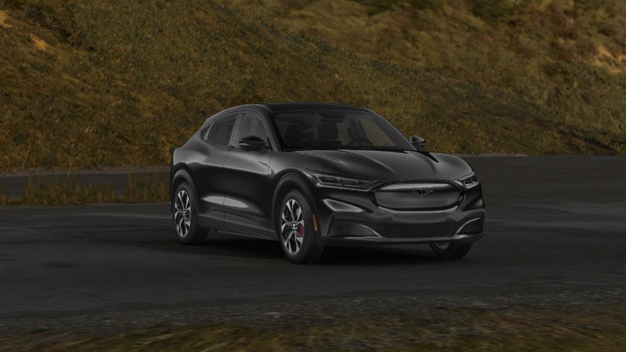 2021 Ford Mustang Mach-E Shadow Black Exterior Color