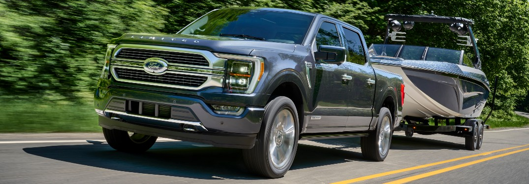 What are the Maximum Towing and Payload Capability Ratings for the 2021 Ford F-150 Lineup at Brandon Ford in Tampa FL?