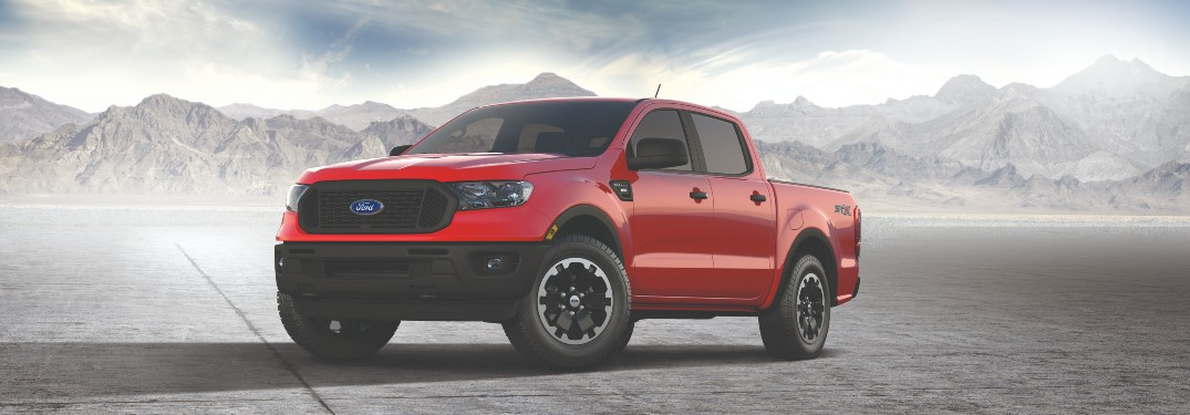 What Does a 2021 Ford Ranger Equipped with the SXT Special Edition Package Look Like at Brandon Ford in Tampa FL?