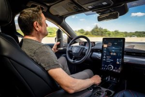 Ford infotainment system with Over the Air updates