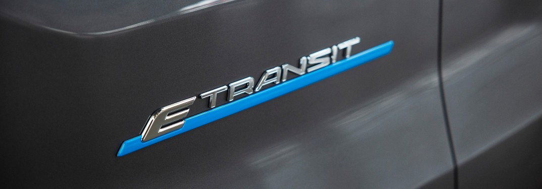 E-Transit bade on a 2022 Ford E-Transit