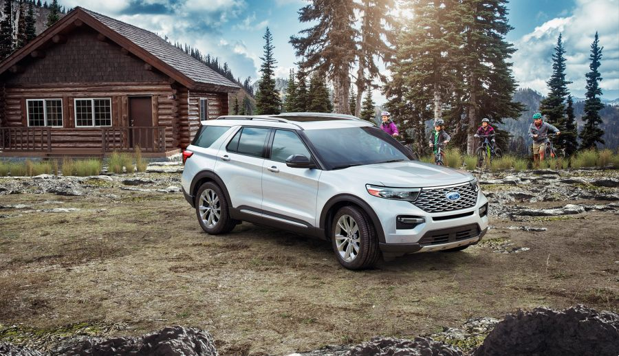 pictures of new 2021 ford explorer lineup