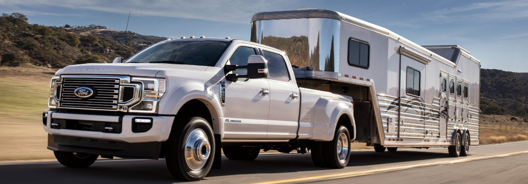 How Capable is the 2021 Ford Super Duty Lineup at Brandon Ford in Tampa FL?