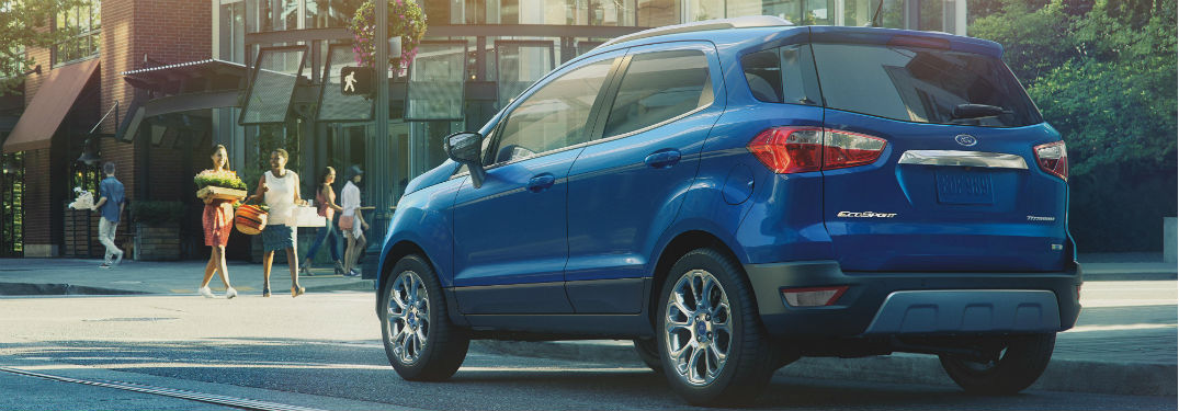 What Exterior Colors are Available for the 2021 Ford EcoSport Lineup at Brandon Ford in Tampa FL?