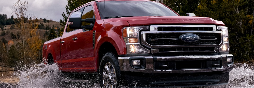 How has the 2021 Ford Super Duty Lineup at Brandon Ford in Tampa FL Improved Inside and Out?