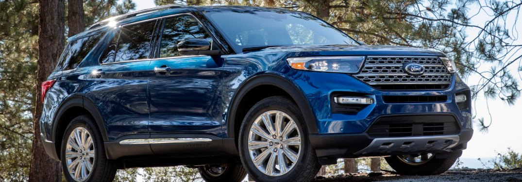 What New Drive Modes are Featured with the 2021 Ford Explorer Lineup's Terrain Management System?