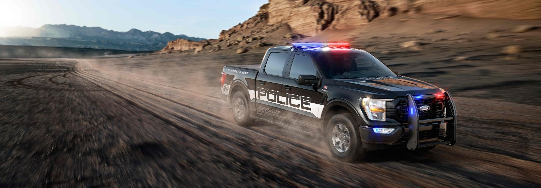 Ford Ups the Top Speed and Capability of Its All-New 2021 Ford F-150 Police Responder Pickup Truck