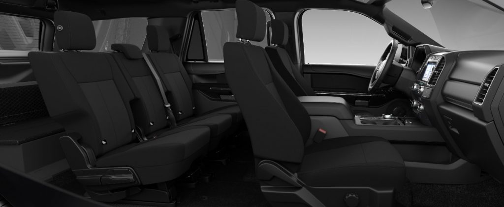 full interior of a 2021 Ford Expedition