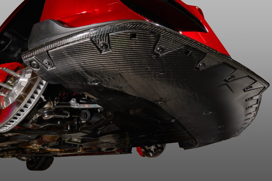Ford Mustang GT500 Carbon Fiber Belly Pan