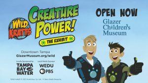 Wild Kratts exhibit infographic