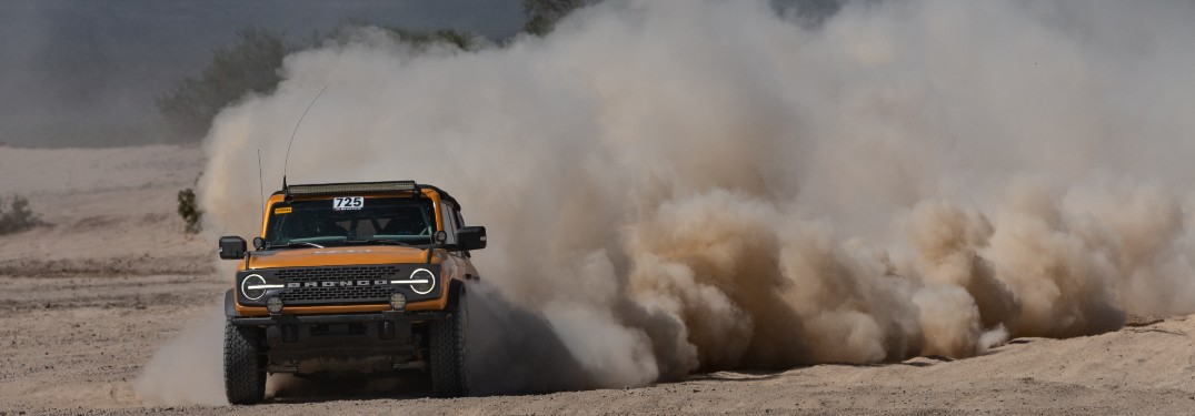Built Ford Wild: 2021 Ford Bronco 4-Door SUV Proves Its Toughness at NORRA Mexican 1000 Off-Road Rally