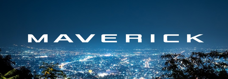 Ford Maverick teaser logo